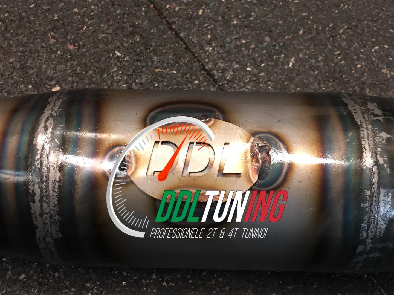 Uitlaat Zundapp 125cc DDL Tuning op=op