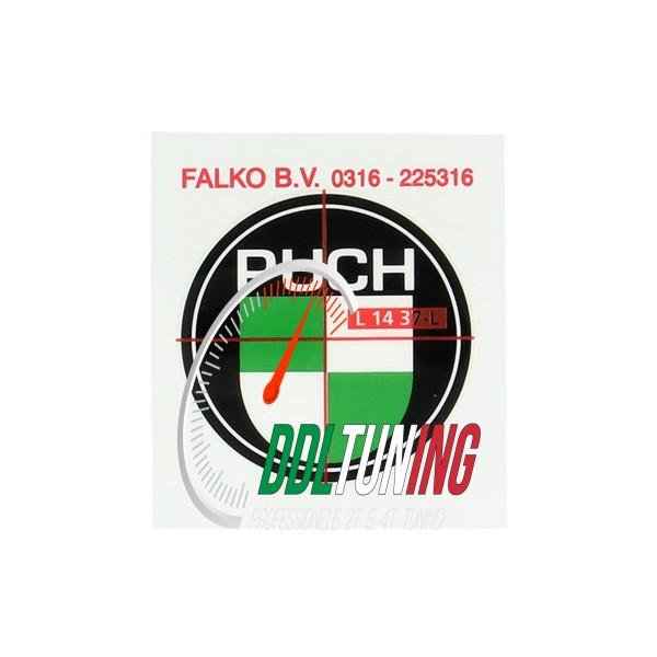 LOGO PUCH 40MM ZWART/ WIT/ GROEN
