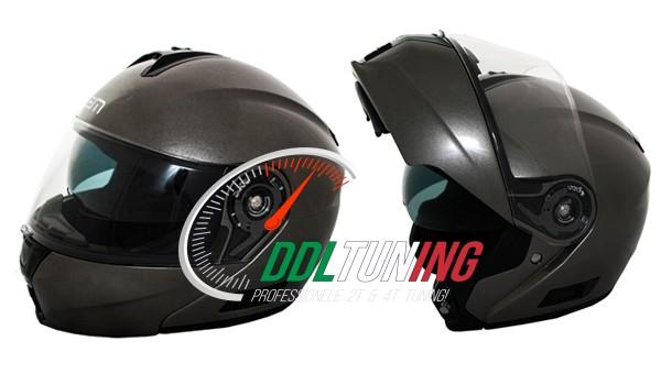 helm systeem XL 60/61 antraciet metallic lem openit