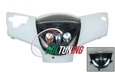 KOPLAMP + LEDVERLICHTING ZIP2000 CARBON DMP